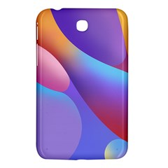 Color Orange Copy Samsung Galaxy Tab 3 (7 ) P3200 Hardshell Case  by AnjaniArt