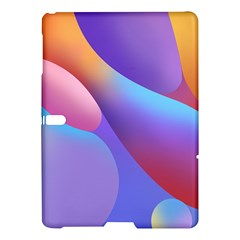 Color Orange Copy Samsung Galaxy Tab S (10 5 ) Hardshell Case  by AnjaniArt