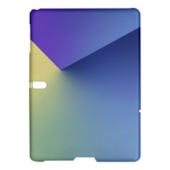 Purple Yellow Samsung Galaxy Tab S (10 5 ) Hardshell Case  by AnjaniArt