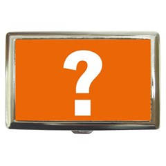 Question Mark Cigarette Money Cases by AnjaniArt