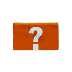 Question Mark Cosmetic Bag (xs)