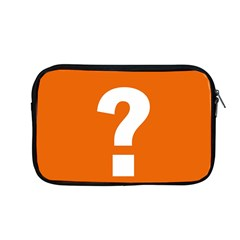 Question Mark Apple Macbook Pro 13  Zipper Case