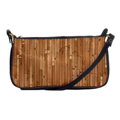 Parquet Floor Shoulder Clutch Bags