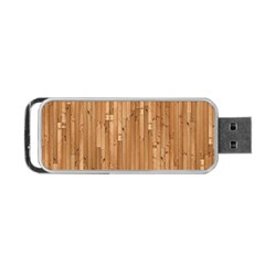 Parquet Floor Portable Usb Flash (two Sides) by AnjaniArt