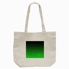 Neon Green And Black Halftone Copy Tote Bag (cream) by AnjaniArt