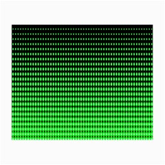 Neon Green And Black Halftone Copy Small Glasses Cloth