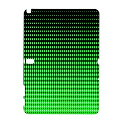 Neon Green And Black Halftone Copy Galaxy Note 1