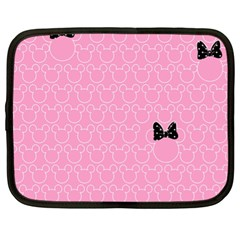 Ribbon Headbands Netbook Case (xl)  by AnjaniArt