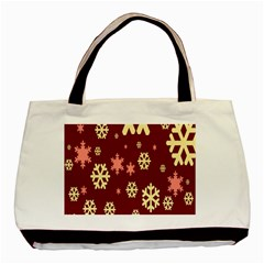 Red Resolution Version Basic Tote Bag