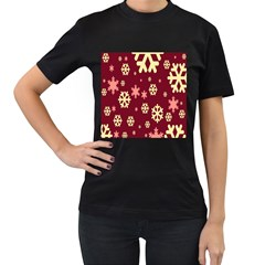 Red Resolution Version Women s T Shirt (black)