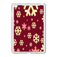 Red Resolution Version Apple Ipad Mini Case (white)