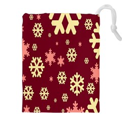 Red Resolution Version Drawstring Pouches (xxl)