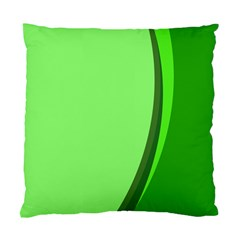 Simple Green Standard Cushion Case (one Side)