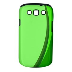 Simple Green Samsung Galaxy S Iii Classic Hardshell Case (pc+silicone) by AnjaniArt