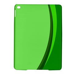 Simple Green Ipad Air 2 Hardshell Cases by AnjaniArt