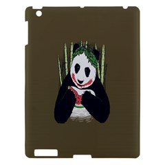 Simple Joker Panda Bears Apple Ipad 3/4 Hardshell Case by AnjaniArt