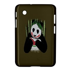 Simple Joker Panda Bears Samsung Galaxy Tab 2 (7 ) P3100 Hardshell Case  by AnjaniArt