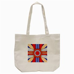 Round Color Copy Tote Bag (cream)