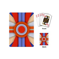 Round Color Copy Playing Cards (mini)  by AnjaniArt