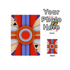 Round Color Copy Playing Cards 54 (mini)
