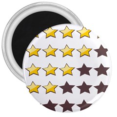 Star Rating Copy 3  Magnets