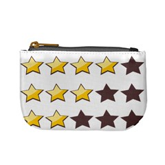 Star Rating Copy Mini Coin Purses by AnjaniArt