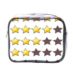 Star Rating Copy Mini Toiletries Bags by AnjaniArt