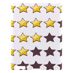 Star Rating Copy Apple Ipad 3/4 Hardshell Case by AnjaniArt