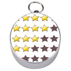 Star Rating Copy Silver Compasses