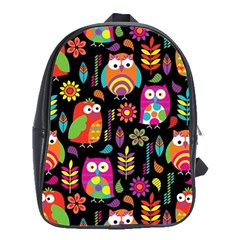 Ultra Soft Owl School Bags(large)