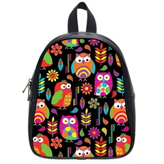 Ultra Soft Owl School Bags (small)  by AnjaniArt