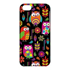 Ultra Soft Owl Apple Iphone 5c Hardshell Case by AnjaniArt