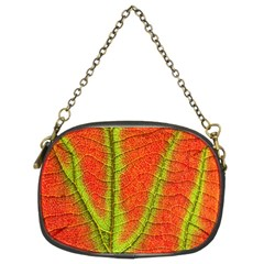 Unique Leaf Chain Purses (two Sides)