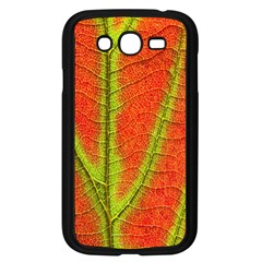 Unique Leaf Samsung Galaxy Grand Duos I9082 Case (black) by AnjaniArt