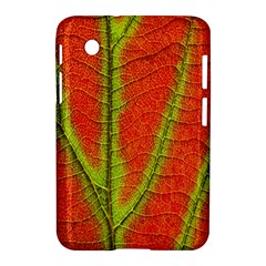 Unique Leaf Samsung Galaxy Tab 2 (7 ) P3100 Hardshell Case  by AnjaniArt
