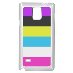 Bigender Flag Samsung Galaxy Note 4 Case (white) by AnjaniArt