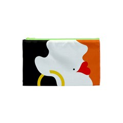 Woman s Face Cosmetic Bag (xs) by AnjaniArt