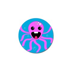 Bubble Octopus Golf Ball Marker (4 Pack) by AnjaniArt