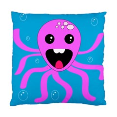 Bubble Octopus Standard Cushion Case (one Side) by AnjaniArt