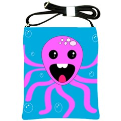 Bubble Octopus Shoulder Sling Bags