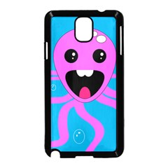 Bubble Octopus Samsung Galaxy Note 3 Neo Hardshell Case (black) by AnjaniArt