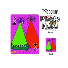 Birthday Hat Party Playing Cards 54 (mini)