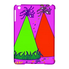 Birthday Hat Party Apple Ipad Mini Hardshell Case (compatible With Smart Cover) by AnjaniArt