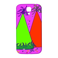 Birthday Hat Party Samsung Galaxy S4 I9500/i9505  Hardshell Back Case