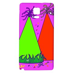 Birthday Hat Party Galaxy Note 4 Back Case by AnjaniArt