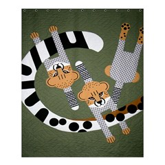 Chetah Animals Shower Curtain 60  X 72  (medium)