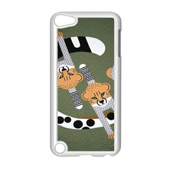 Chetah Animals Apple Ipod Touch 5 Case (white)