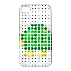 Colored Turtle Apple Iphone 4/4s Hardshell Case With Stand