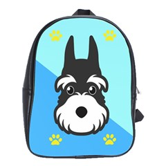 Face Dog School Bags(large)