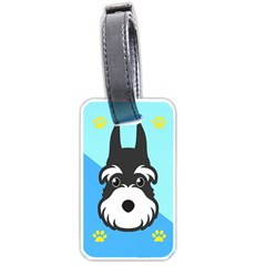 Face Dog Luggage Tags (one Side)  by AnjaniArt
